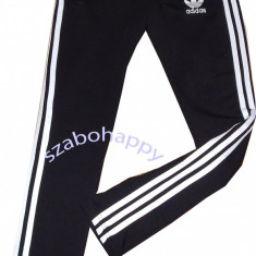 Pantaloni Adidas pentru dama. - Pantaloni dama Adidas, Marime: M, Culoare: Negru, Lungi, Bumbac