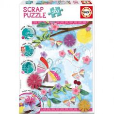 Puzzle Educa Garden Art Scrap 500 Piese