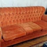 Canapea si doua fotolii living, in stare perfecta, neextensibile, comode