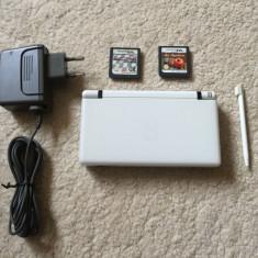 Nintendo DS Lite+stilou+2 jocuri(MARIO KART)+ incarcator STARE BUNA