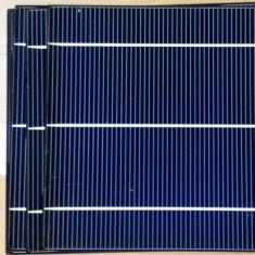 Celule fotovoltaice (solare) monocristaline 3.9W sparte (pachet 22 bucati)