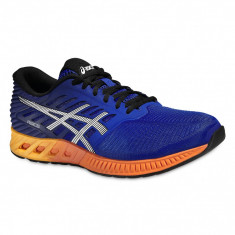 Adidasi barbati - Pantofi Alergare, Asics, FuzeX Cushioning, Albastru-Portocaliu, Barbati-41.5 - OLN-OL10-T639N.4350|41.5