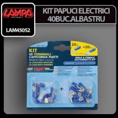 KIT PAPUCI ELECTRICI 40BUC ALBASTRU 11 - KPE3155 - Contact auto