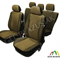 Husa Auto - Set huse scaune auto Swing Amber pentru Vw Golf 2, Golf 3 Golf 4, Golf 5, Golf Plus - SHSA1630