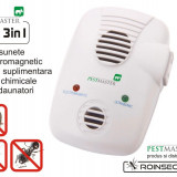 Aparat anti-daunatori Repel-EMG 3IN1 - 200 mp