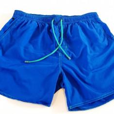 Pantaloni scurti Hugo Boss albastri - Bermude barbati Hugo Boss, Marime: M, Culoare: Din imagine, Poliester