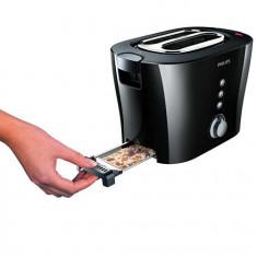 Toaster - Prajitor de Paine Philips HD2630/20, 1000W, 2 felii, negru