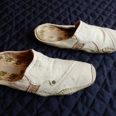 Sandale Bugatti Denim din piele naturala; marime 46 (30 cm talpic interior) - Sandale barbati, Din imagine