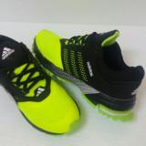 Adidasi Adidas marathn verde ne0n-negru model inedit 2016