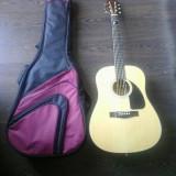 Chitara acustica Fender noua cu husa