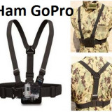 Ham de corp + J-HOOK pt GoPro Chest Mount GoPro Hero 1/2/3/3+/4 chesty