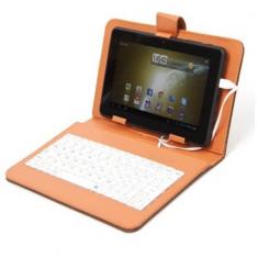 Husa cu tastatura pentru tableta 7 inch Omega - Husa tableta cu tastatura