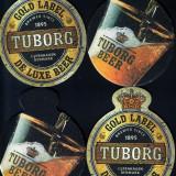 5 suporturi pahare Tuborg