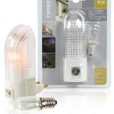 Lampa de veghe cu senzor lumina