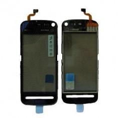 Geam cu Touchscreen Nokia 5800 Negru Original - Touchscreen telefon mobil