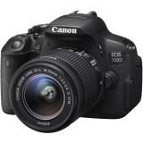 DIG. CAMERA CANON DSLR EOS 700D + OBIECTIV EF-S 18-55 IS STM