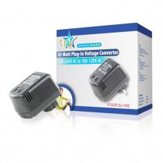 Convertor tensiune HQ, 45 W, 220-110 V - Transformator