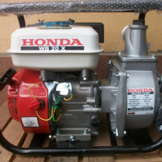 Pompa gradina Honda, Motopompe - Motopompa Honda WB 20X, de 2