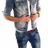Geaca de blugi tip ZARA - geaca slim fit - geaca fashion LICHIDARE DE STOC 6033