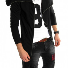 Hanorac tip ZARA fashion negru - hanorac barbati - LICHIDARE DE STOC 6024