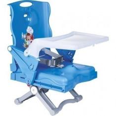 Booster Pliabil Chef Albastru - Masuta/scaun copii Plebani