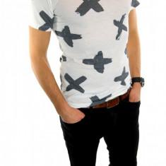 Tricou tip ZARA - tricou barbati - tricou slim fit - tricou fashion - 6045, Marime: XL, Culoare: Din imagine