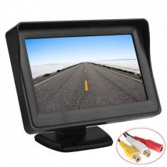 Kit marsalier monitor 4.3' + camera infrarosu +kit radio 10m