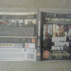 Jocuri PS3, Actiune, 16+, Single player - Grand Theft Auto IV + Episodes form Liberty City - GTA 4 (GameLand)