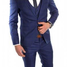 Costum tip ZARA - sacou + pantaloni - vesta costum barbati casual office - 6067