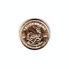 Africa de sud moneda aur 0, 15 grame
