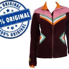Jacheta dama Adidas Originals Winter - bluza originala - Bluza dama Adidas, Marime: M, M/L, Culoare: Visiniu, Maneca lunga, Bumbac