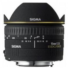Obiectiv DSLR - Pachet Sigma 15mm F2.8 EX DG Dia. Fisheye-Canon + Kata GP 80 rucsac foto