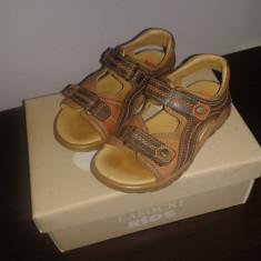 Sandale copii - Sandale baieti, piele naturala, marimea 26.