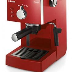 Espressor automat - Espressor Philips Saeco Poemia, 15 bari, 1.25 l, rosu