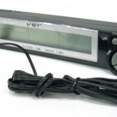 Termometru Digital Cu Senzor Exterior Si Interior De Temperatura VST 7043