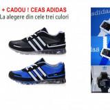 ADIDAS SPRINGBLADE Negru sau Albastru + CADOU ! CEAS ADIDAS LA ALEGERE !