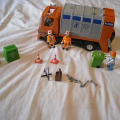 Playmobil City 4418 - Masina de gunoi - Masinuta de jucarie Playmobil, Plastic