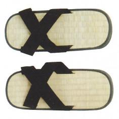 Zori X - paie de orez*44 - Sandale barbati