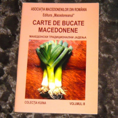 Carte de bucate macedonene (app.30 pag) - 2+1 gratis - CA36 - Carte Retete culinare internationale