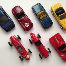 Set 7, Masinute Colectie, Ferrari, scara 1:38, Metal - Macheta auto, 1:43