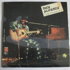 VINIL LP NICU ALIFANTIS ALBUMUL PIATA ROMANA NR.9 COPERTA LAMINATA STARE F.BUNA - Muzica Folk electrecord