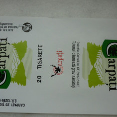 Pachet tigari - Tigari Carpati 1 ambalaj