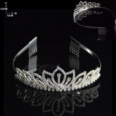 Diadema / coronita / tiara cristal mireasa