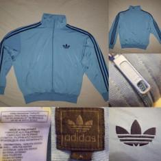 Bluza Adidas Originals (L) albastru barbati casual sport retro vintage - Bluza barbati, Marime: L, Culoare: Din imagine