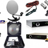 Sistem complet satelit - Antena tv camping rulota camion free
