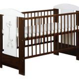 Patut lemn pentru bebelusi - Patut SAFARI GIRAFFE KLUPS Din Lemn Pentru Copii