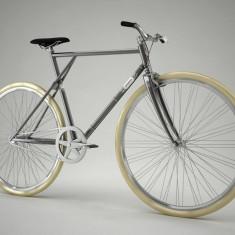 Pegas Clasic B - 3 viteze, Gri Spatial - Bicicleta retro