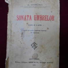 A. Dominic - Sonata umbrelor - 342890 - Carte Cinematografie