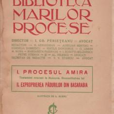 Carte veche - I. Gr. Perieteanu (director) - Biblioteca marilor procese - 513423