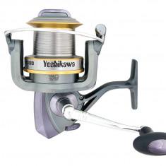 Mulineta Yoshikawa XW10000 - 13 rulmenti pentru pescuit la CRAP, Usoare